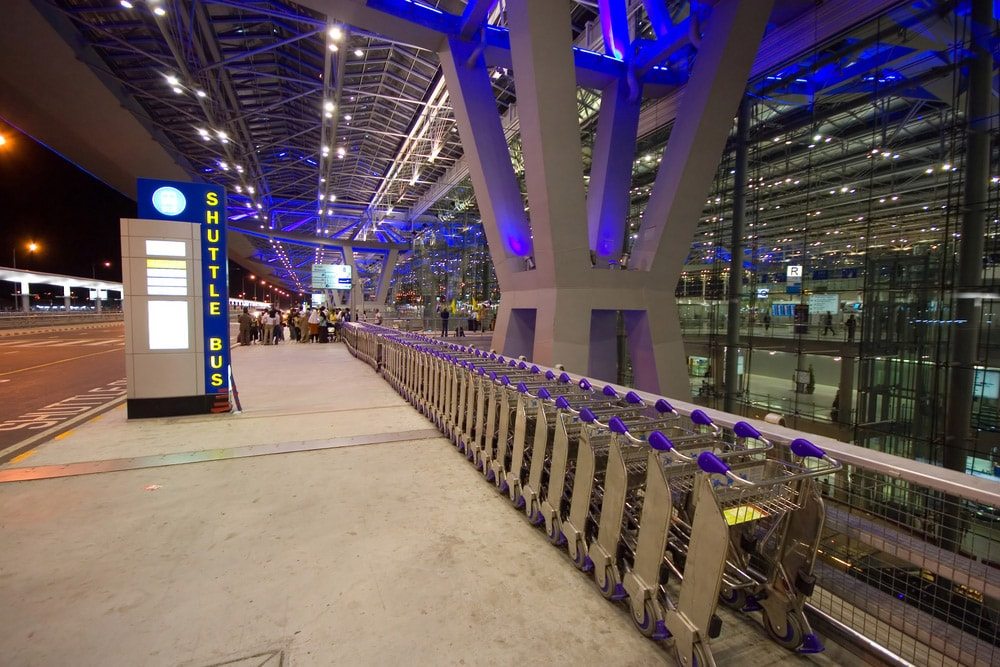 Shuttle Bus Aeroporto Internacional de Bangkok