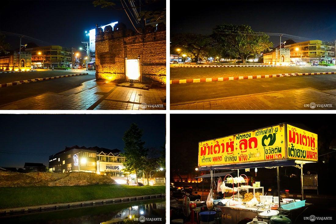 Noite em Chiang Mai, Tailândia