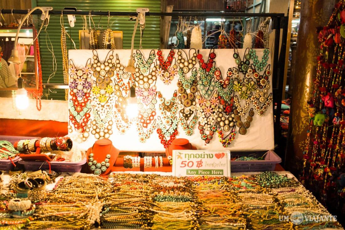 Night Bazaar, Chiang Mai - Tailândia