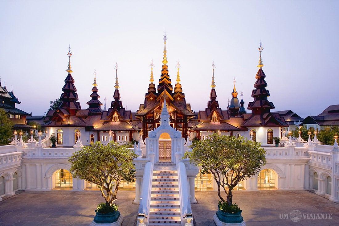O hotel mais lindo de Chiang Mai