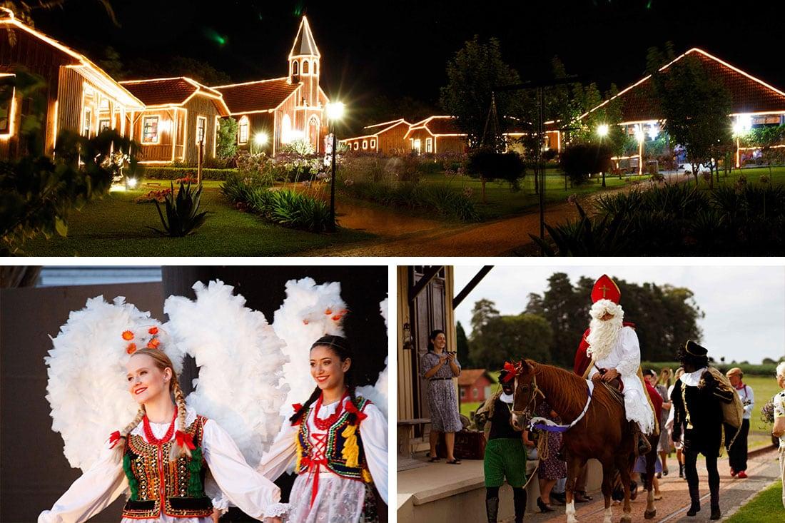 Natal no Parque Histórico de Carambeí
