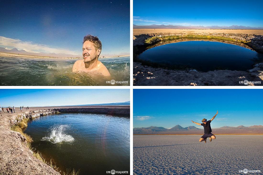 Laguna Cejar, no Atacama