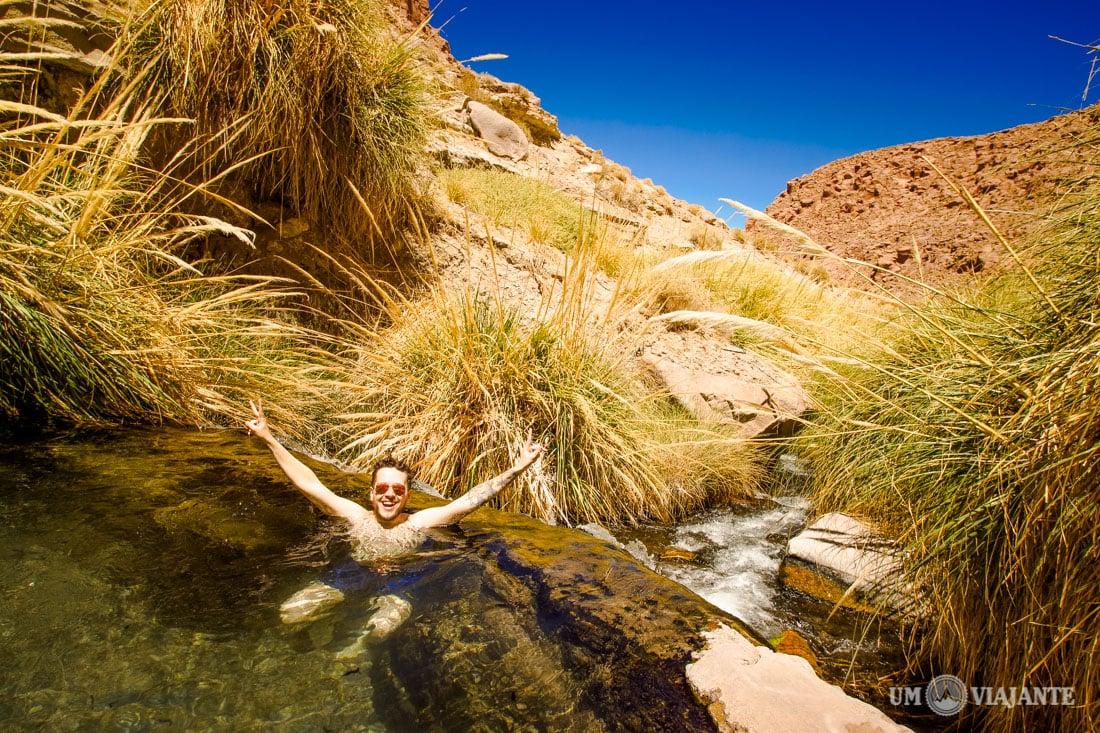 Águas termais do Atacama, Termas de Puritama