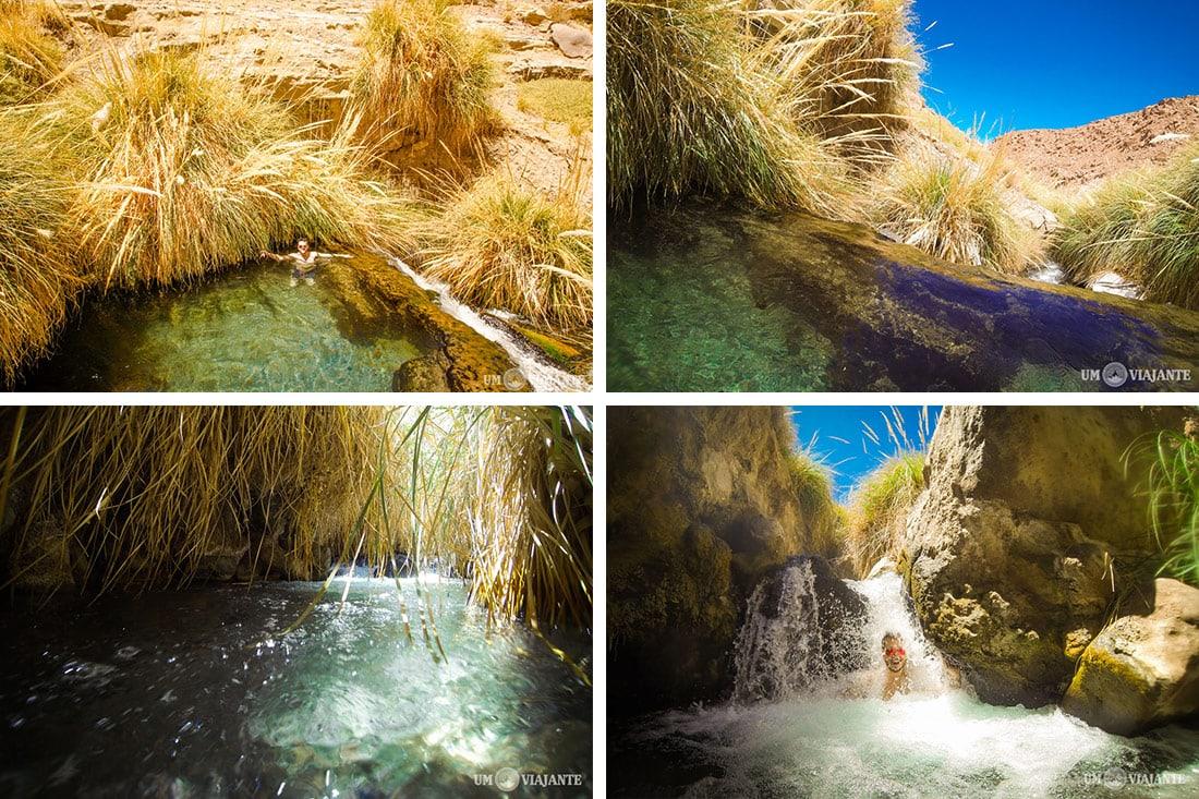 Termas de Puritama, as águas termais do Atacama
