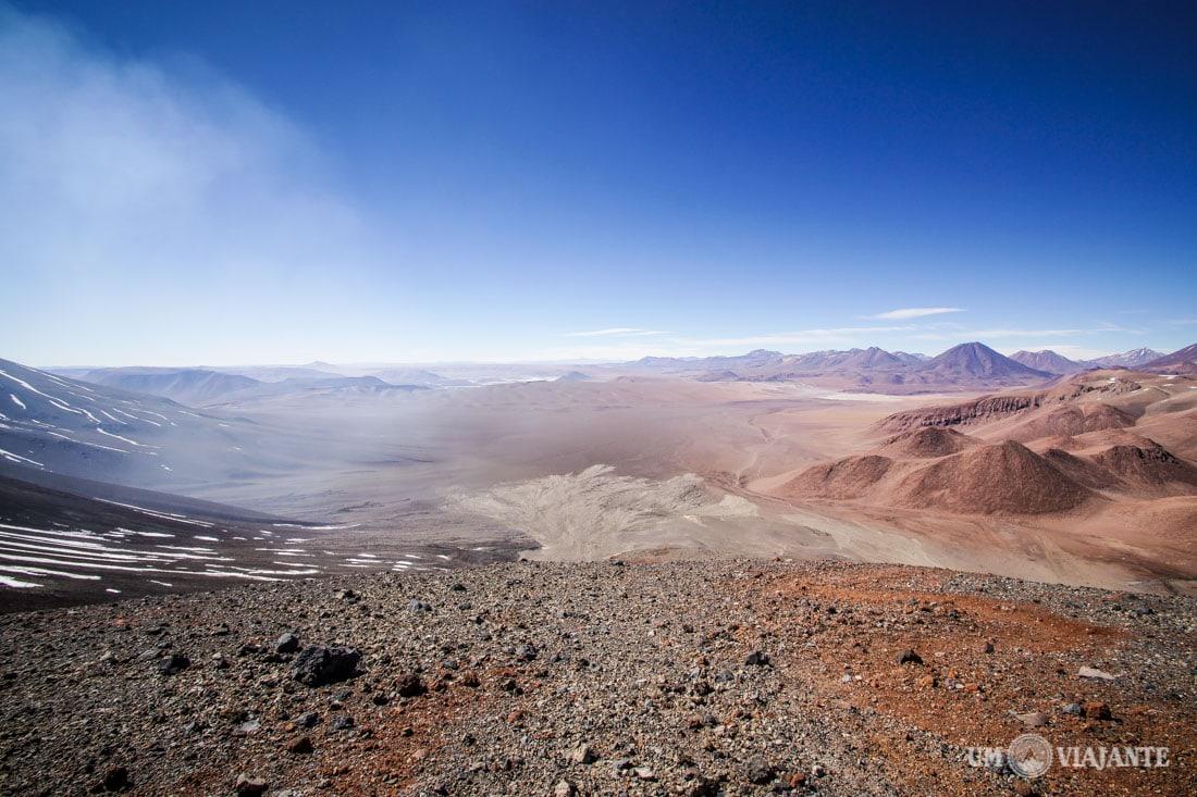 Vulcão Lascar, no Deserto do Atacama