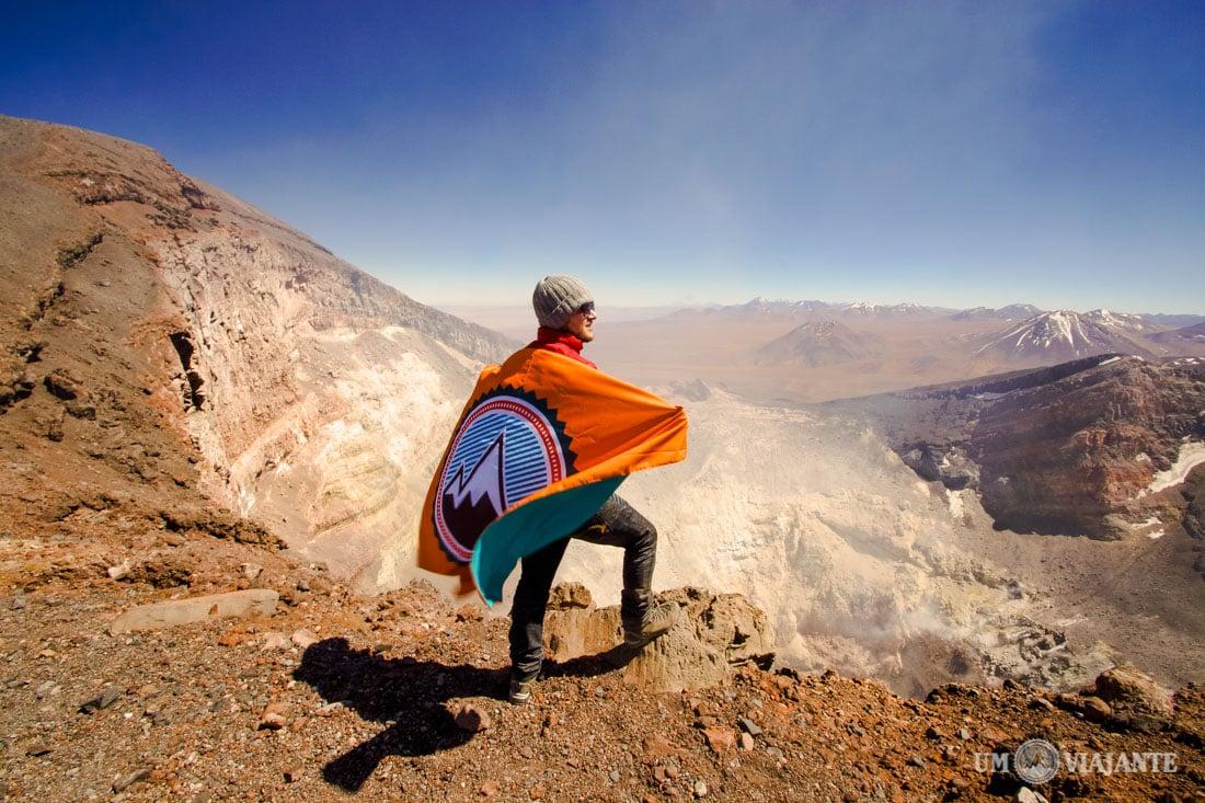 Um Viajante no Vulcão Lascar