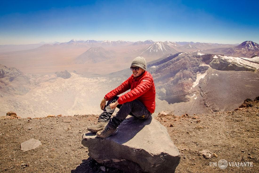 Vulcão Lascar, no Chile