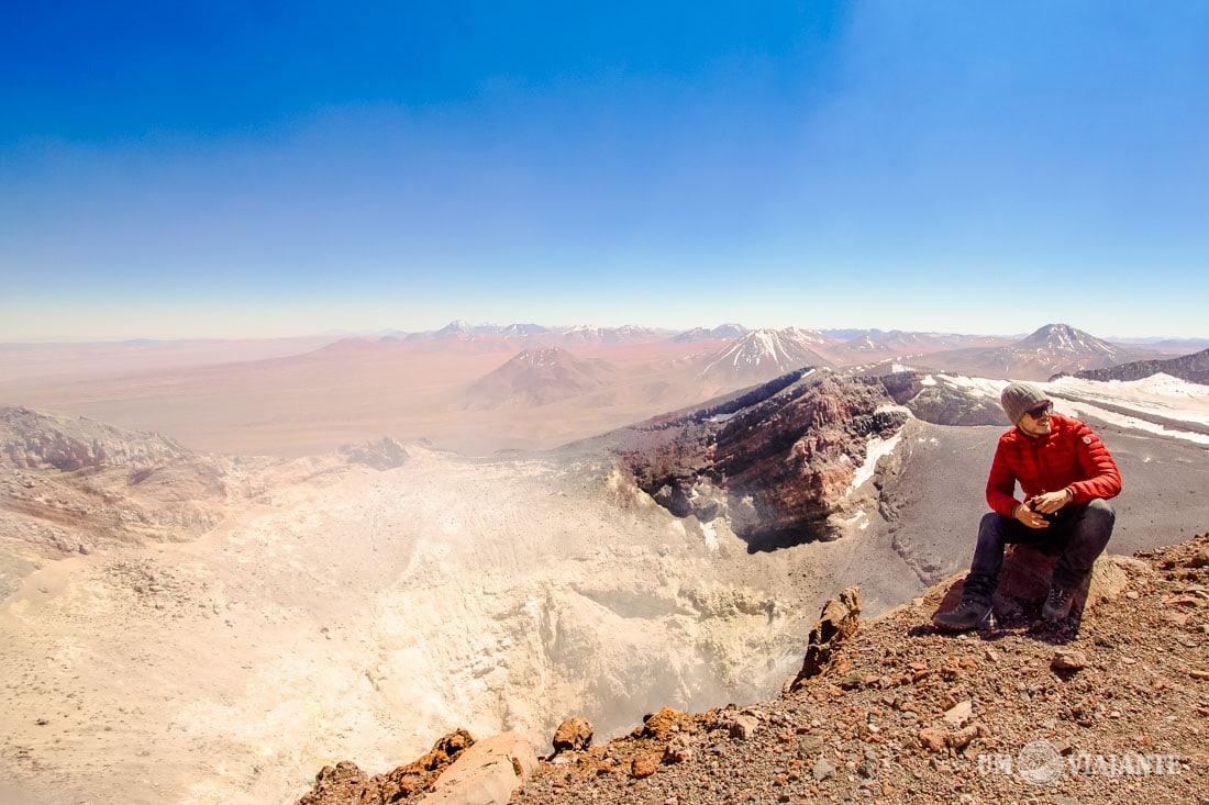 Vulcão Lascar, Deserto do Atacama - Chile