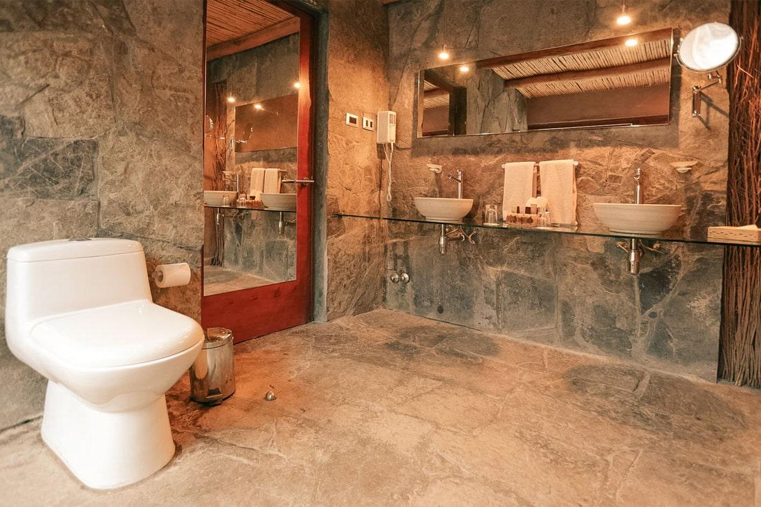 Banheiro Hotel Cumbres, Atacama