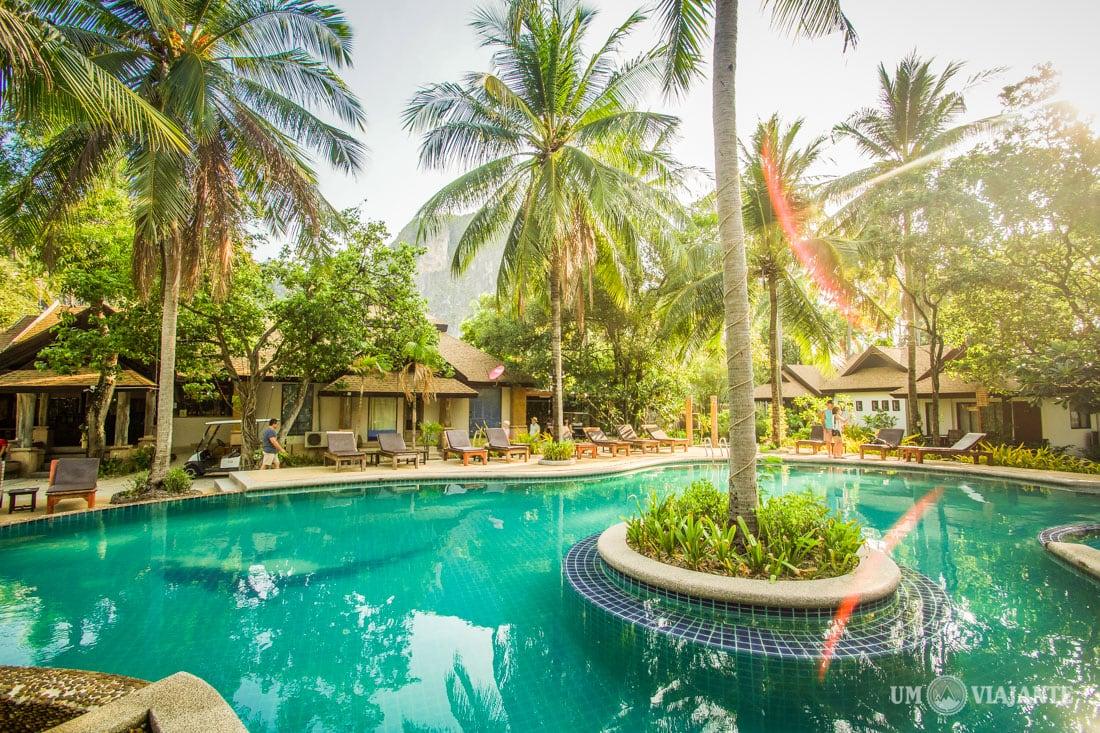 Piscina do Sand Sea Resort, Railay