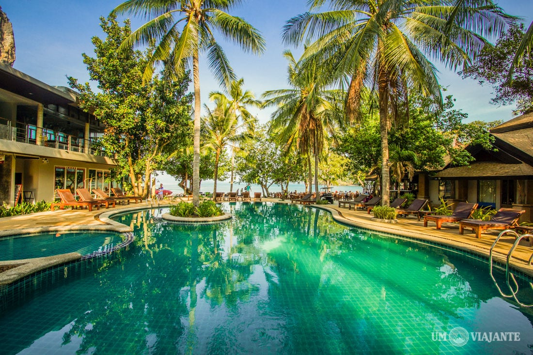 Piscina do Sand Sea Resort, Railay