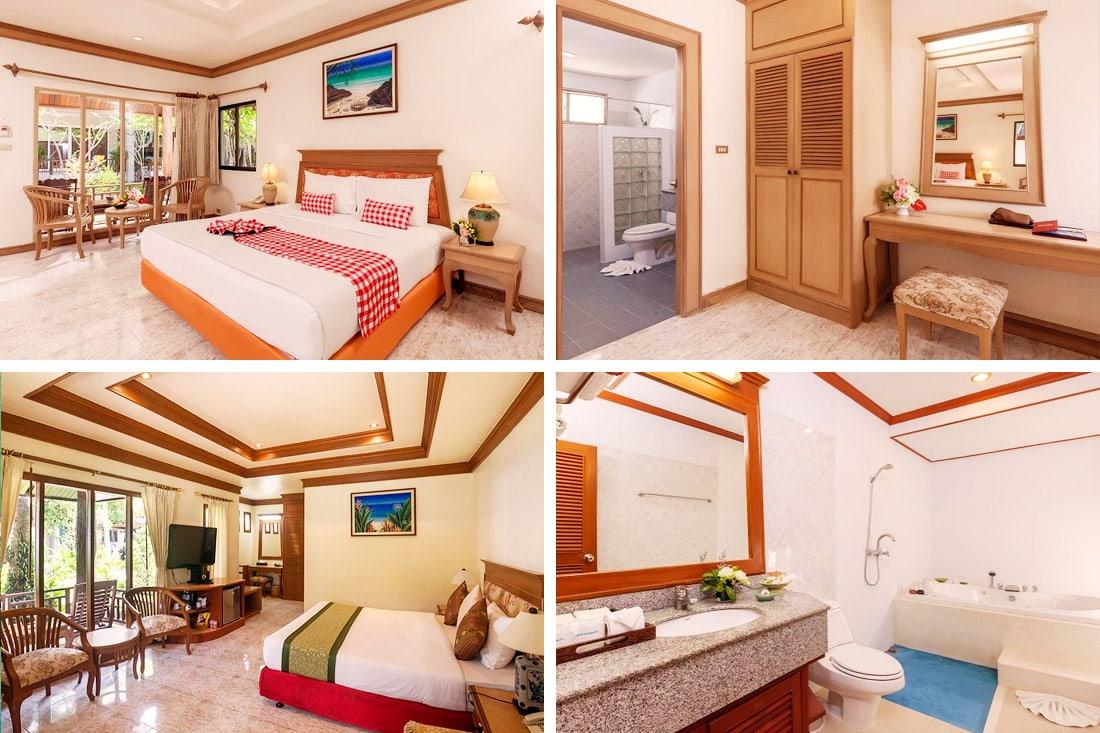 Deluxe Bungalow e Junior Suite Cottage