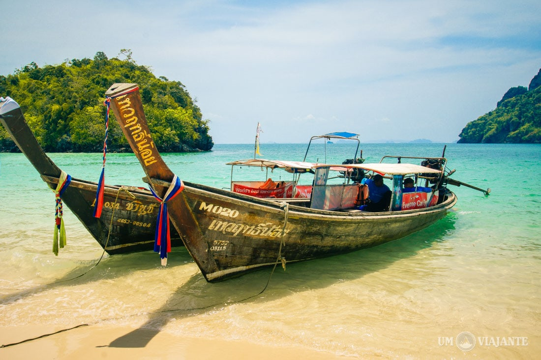 4 Island, Quatro Ilhas - Tailândia