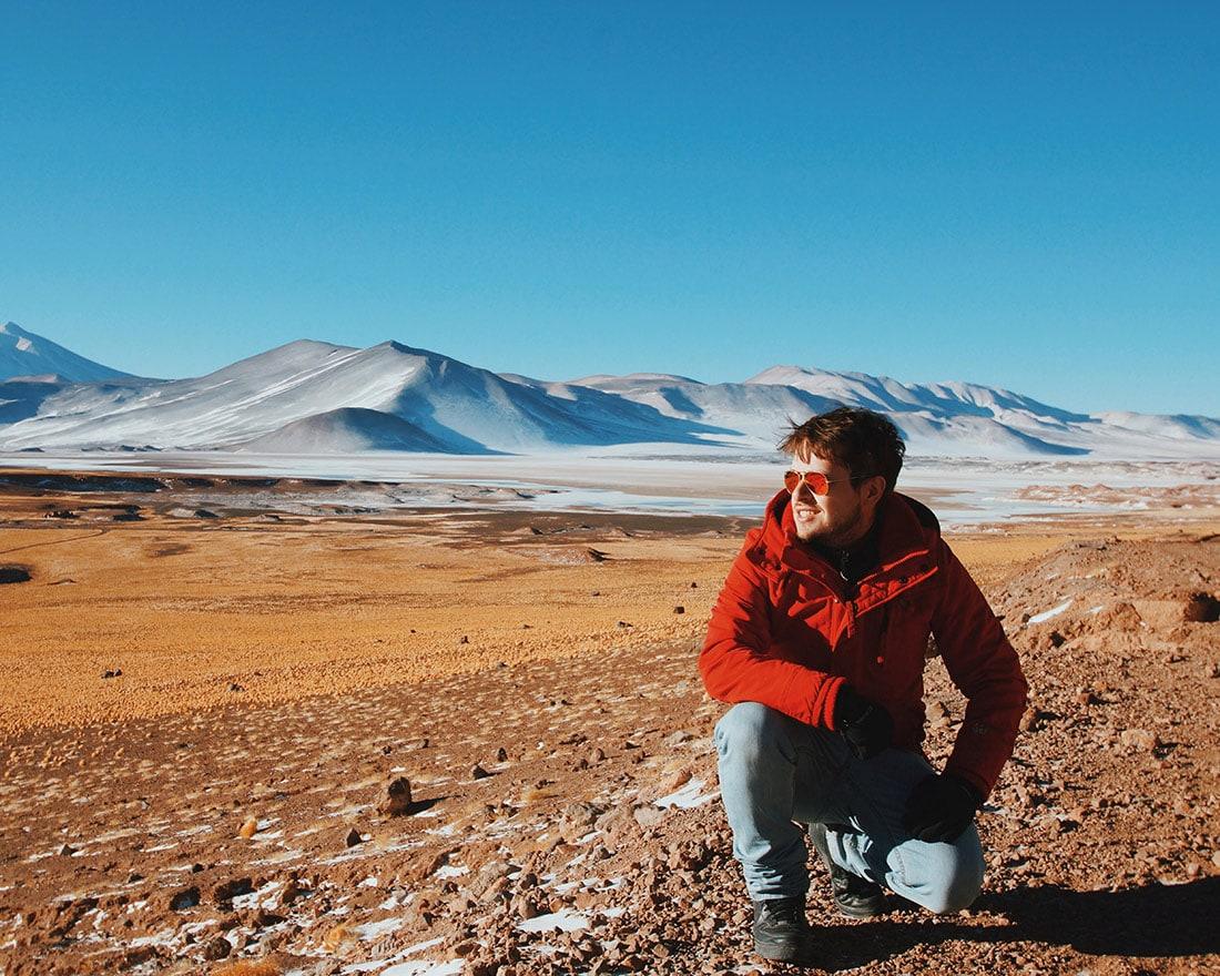 Um Viajante, Atacama