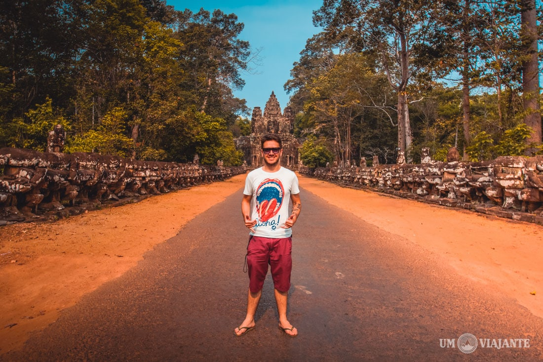 Viajar sozinho no Camboja