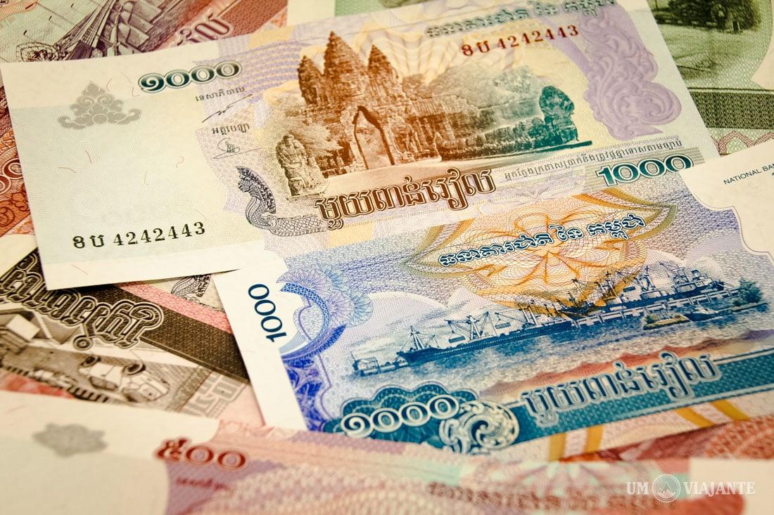Dinheiro do Camboja, Riel