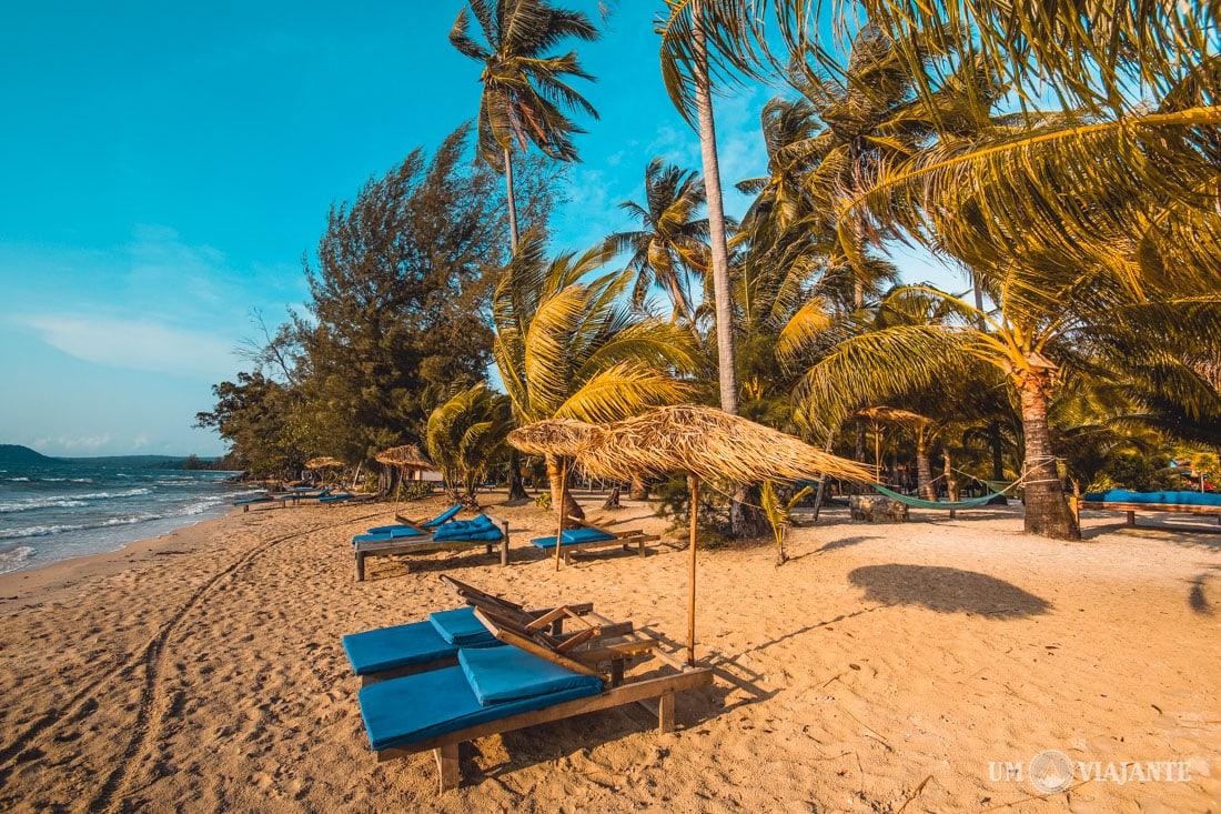 Koh Rong, Ilha no Camboja