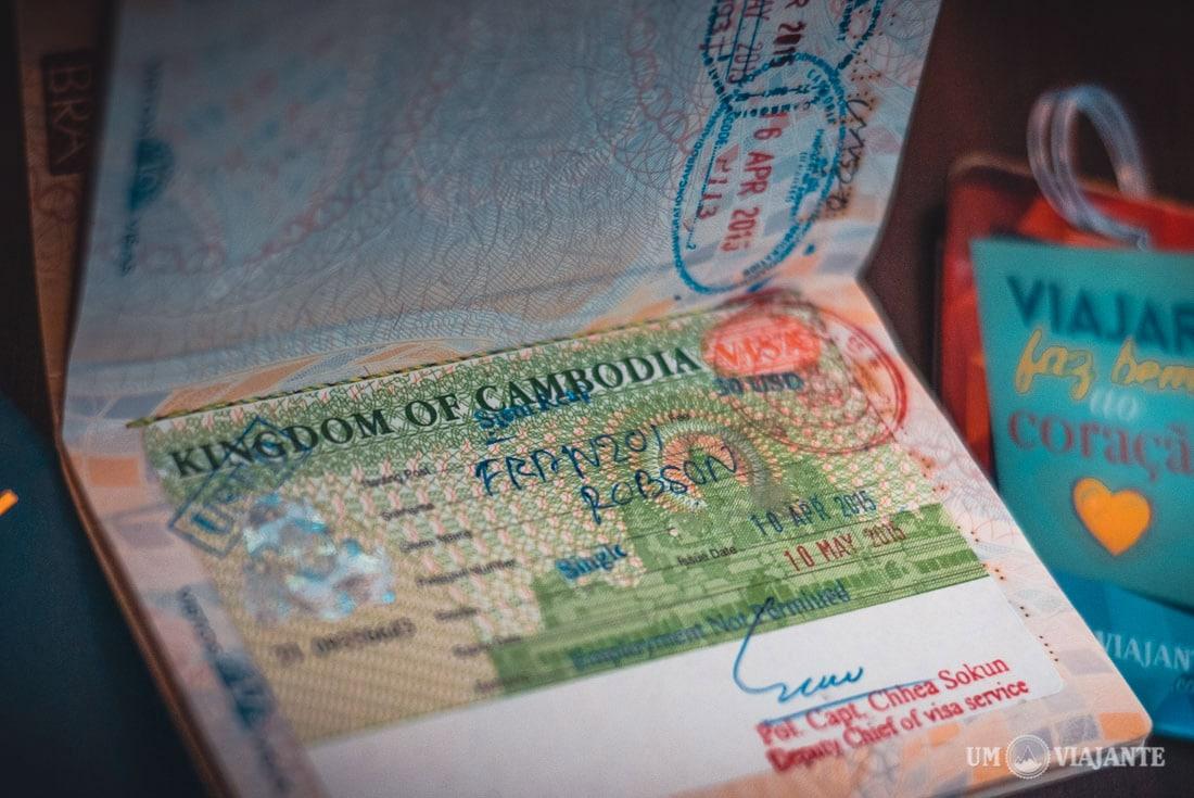 Visto do Camboja