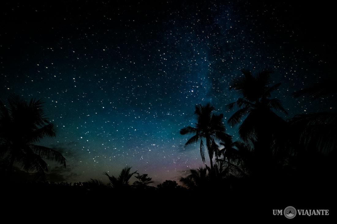 Noite em Koh Rong, Camboja