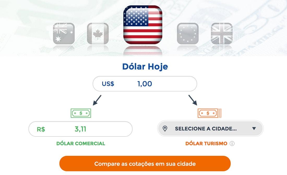 Dólar Hoje, Melhor Câmbio