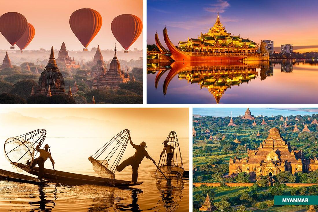 Myanmar, Sudeste Asiático