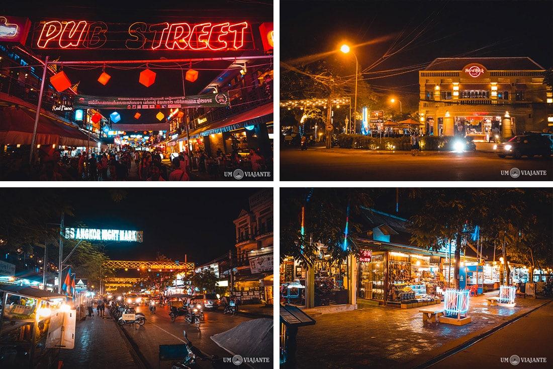 Pub Street, Siem Reap - Camboja