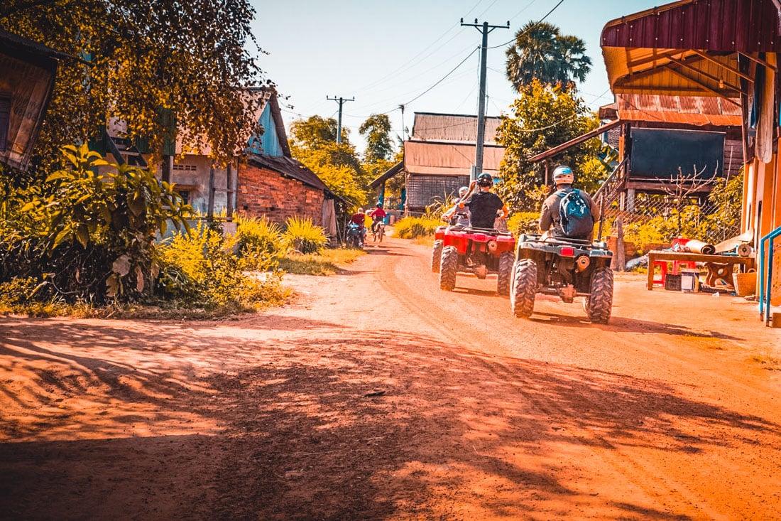 Quadriciclo em Siem Reap, Camboja
