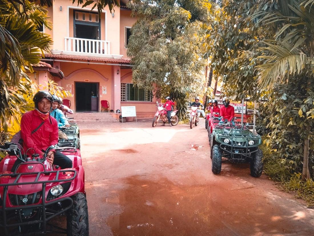 Escritório da Quad Adventure, em Siem Reao