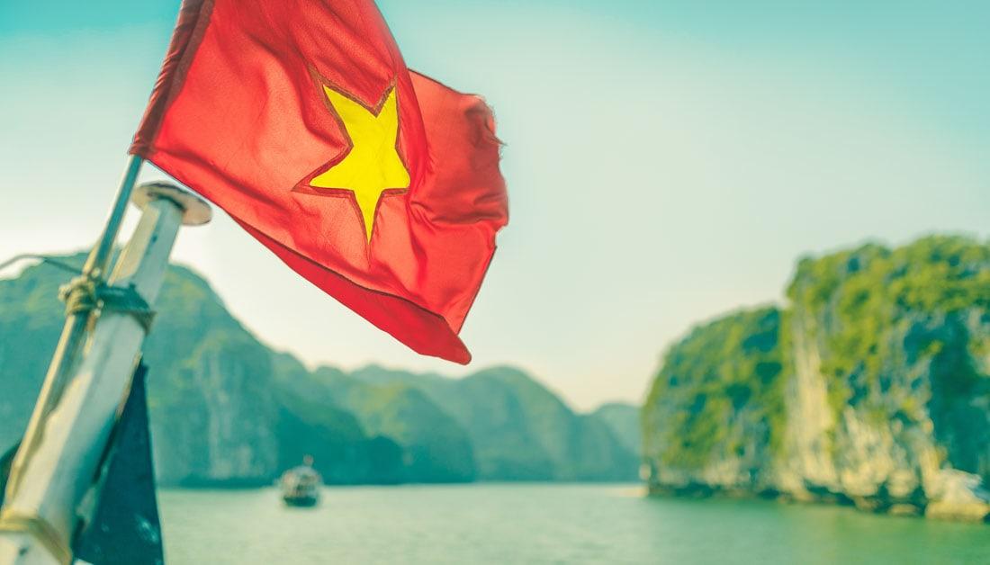 Bandeira Vietnam, Visto