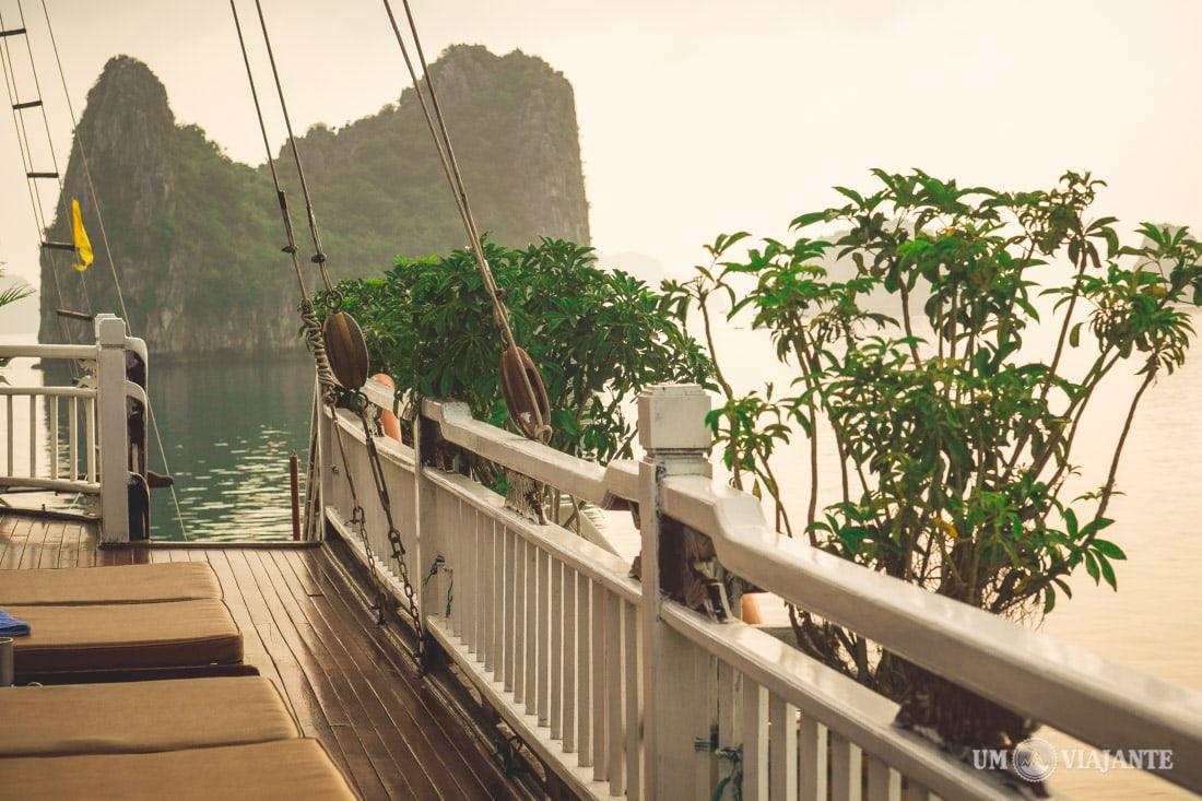 Cruzeiro em Halong Bay, Vietnam