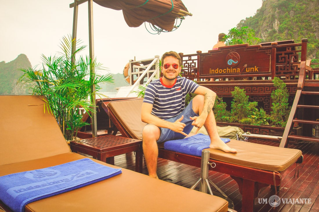 Indochina Junk, Halong Bay