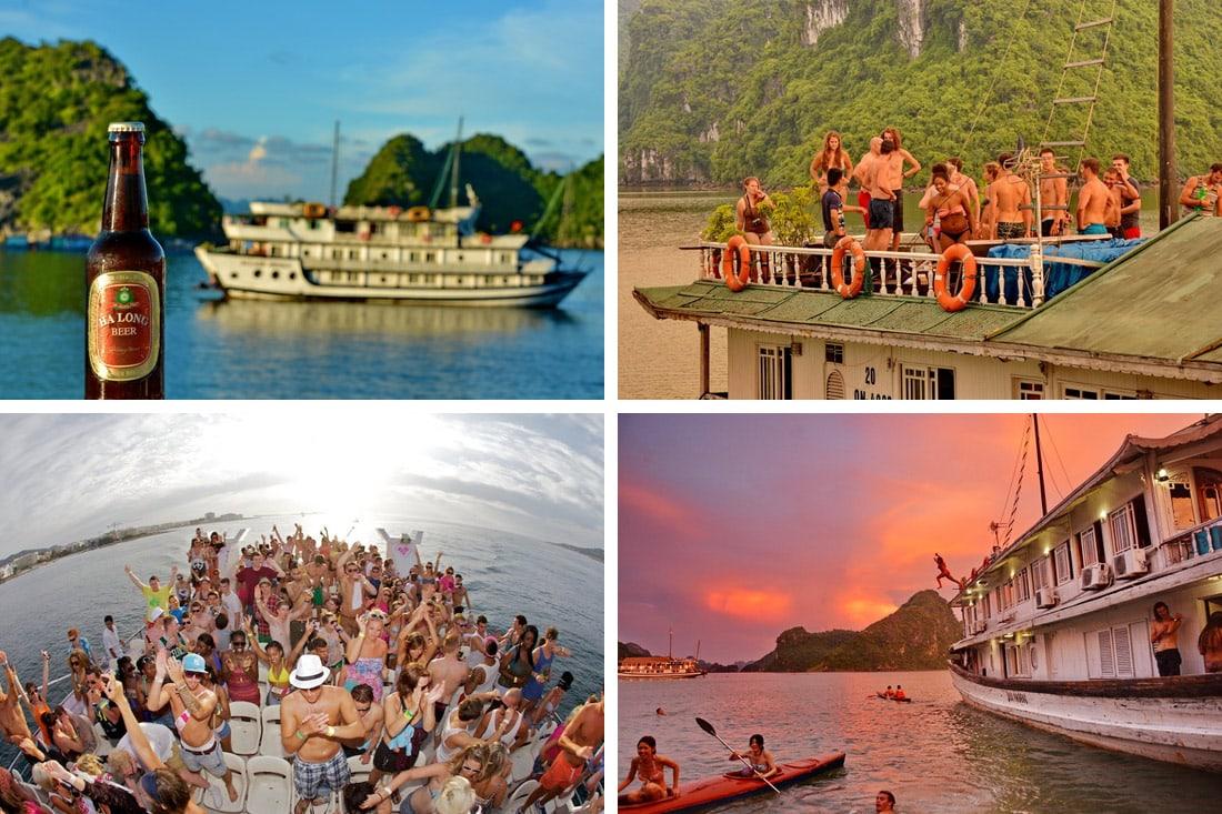 Halong Bay Booze Cruise