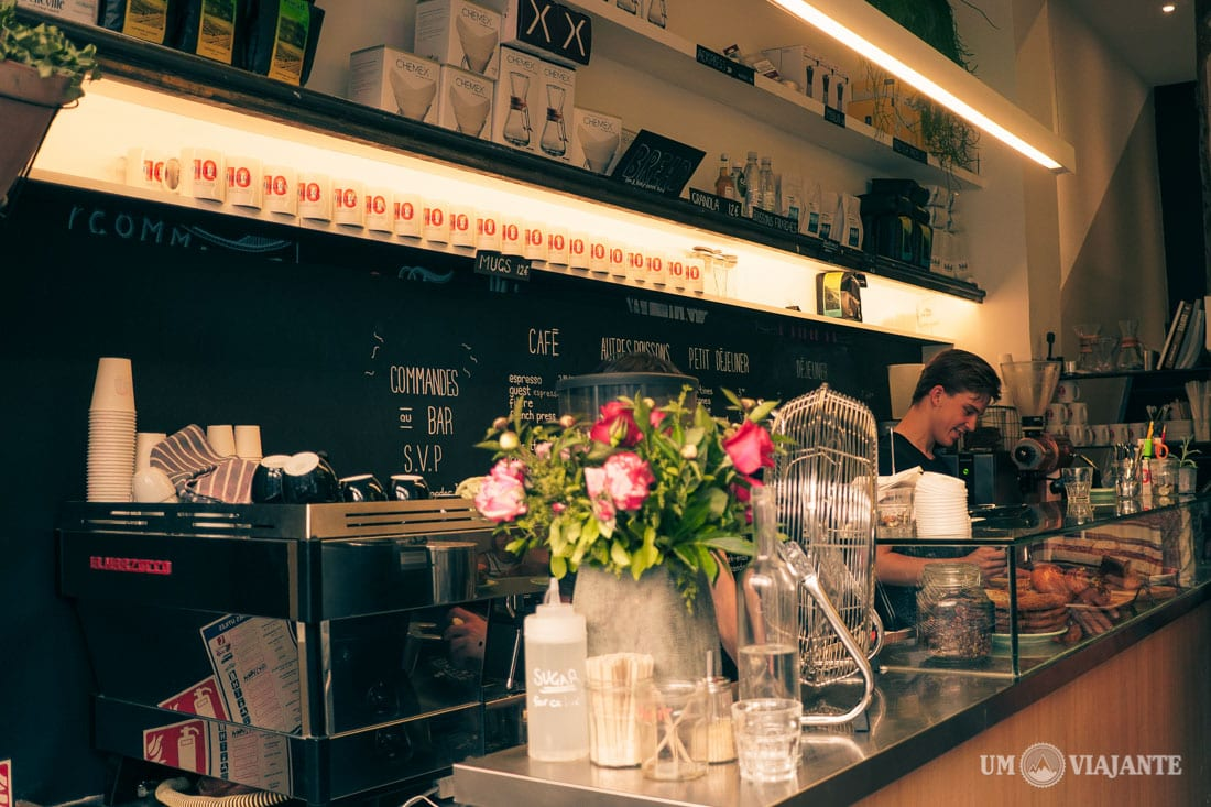 10 Belles, Café em Paris