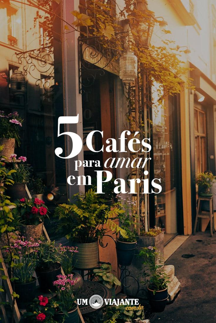 As melhores e mais charmosas cafeterias para você visitar em Paris e provar deliciosos cafés! Descubra nesse post lugares perfeitos para quem ama café e é apaixonado por Paris.