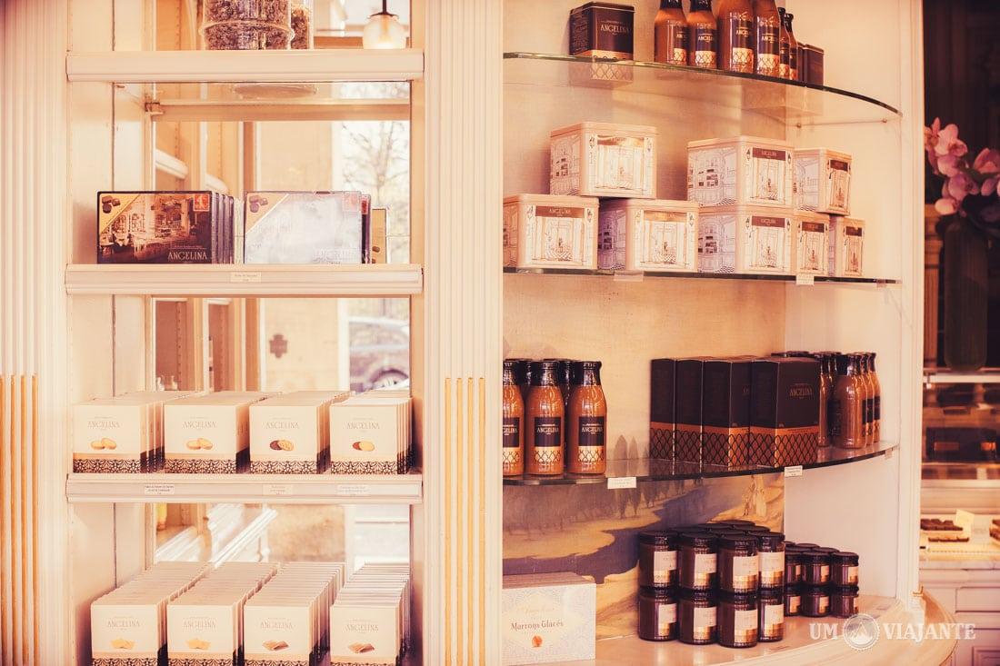 Boutique, Angelina - Paris