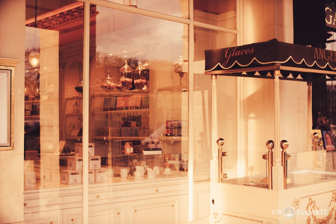Angelina, casa de chá em Paris