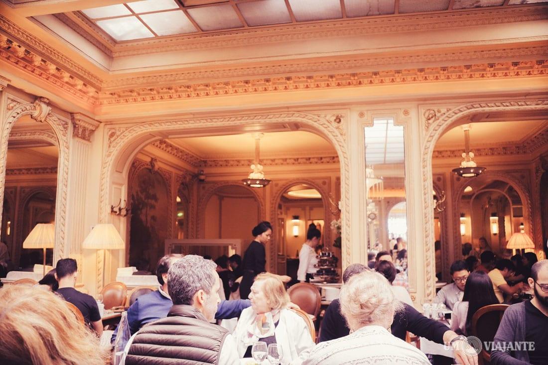 Angelina: casa de chá em Paris