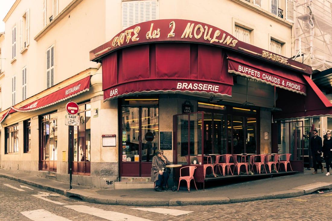 Cafe des 2 Moulins - Amélie Poulain