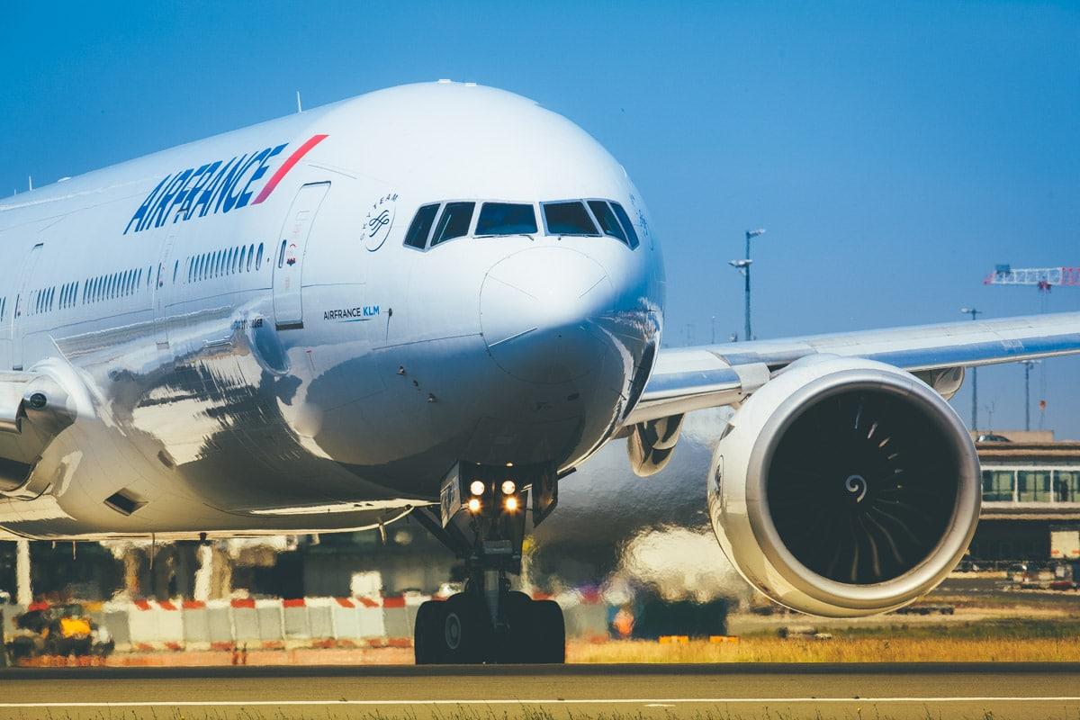 Como é voar com a AirFrance