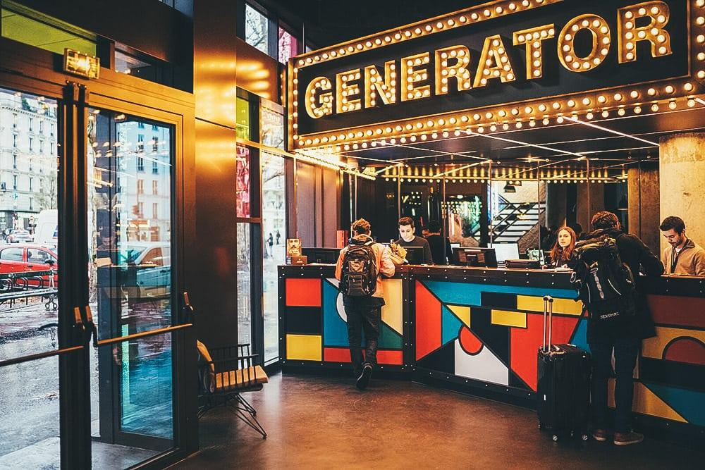 Atendimento - Hostel Generator, Paris