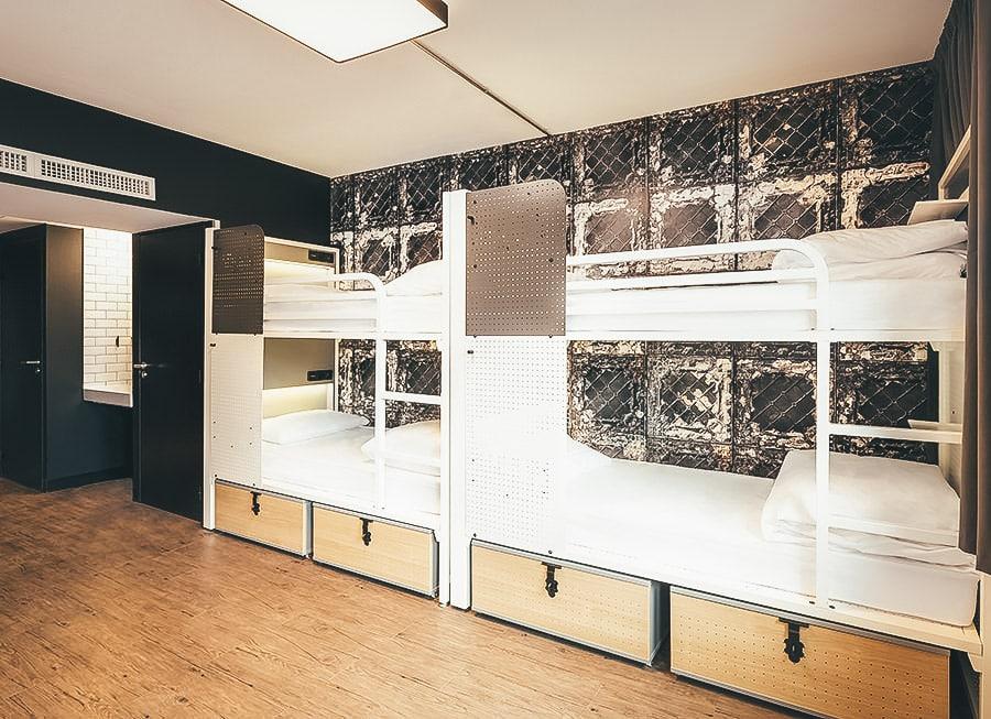 Quarto Compartilhado - Hostel Generator Paris
