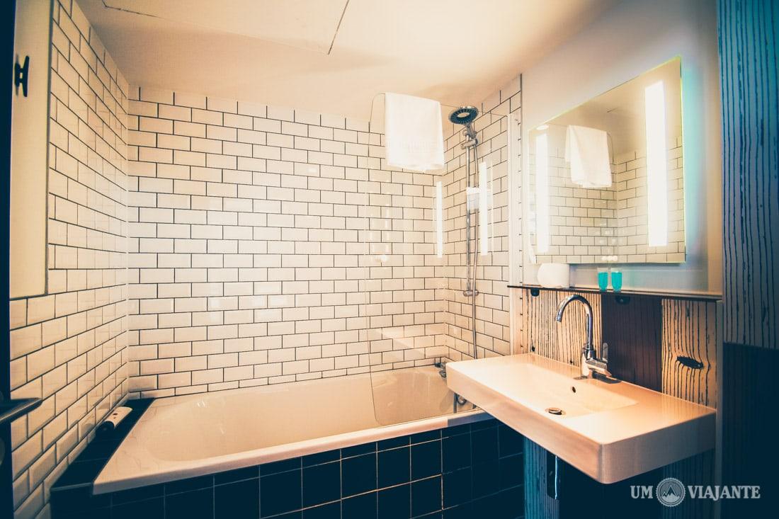 Hostel Generator Paris, Banheiro