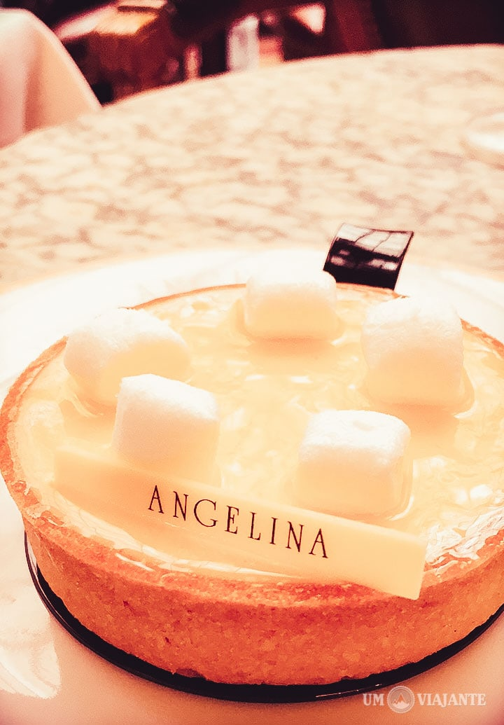 Tarte au citron, Angelina - Paris