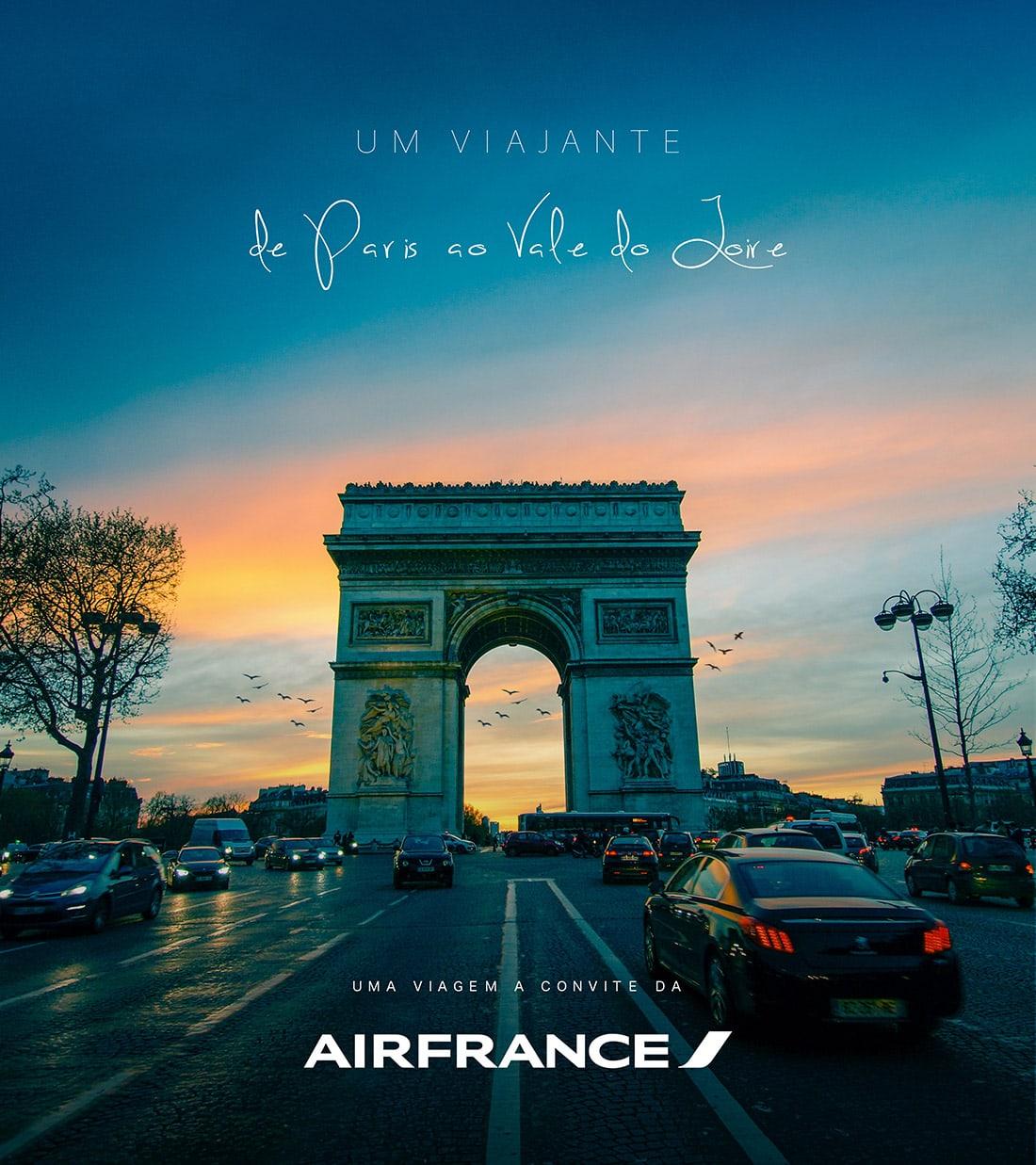 Um Viajante - AirFrance