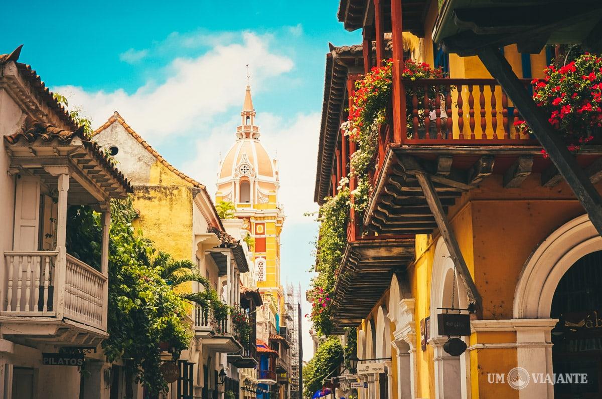 Cartagena das Índias, Colômbia - Um Viajante