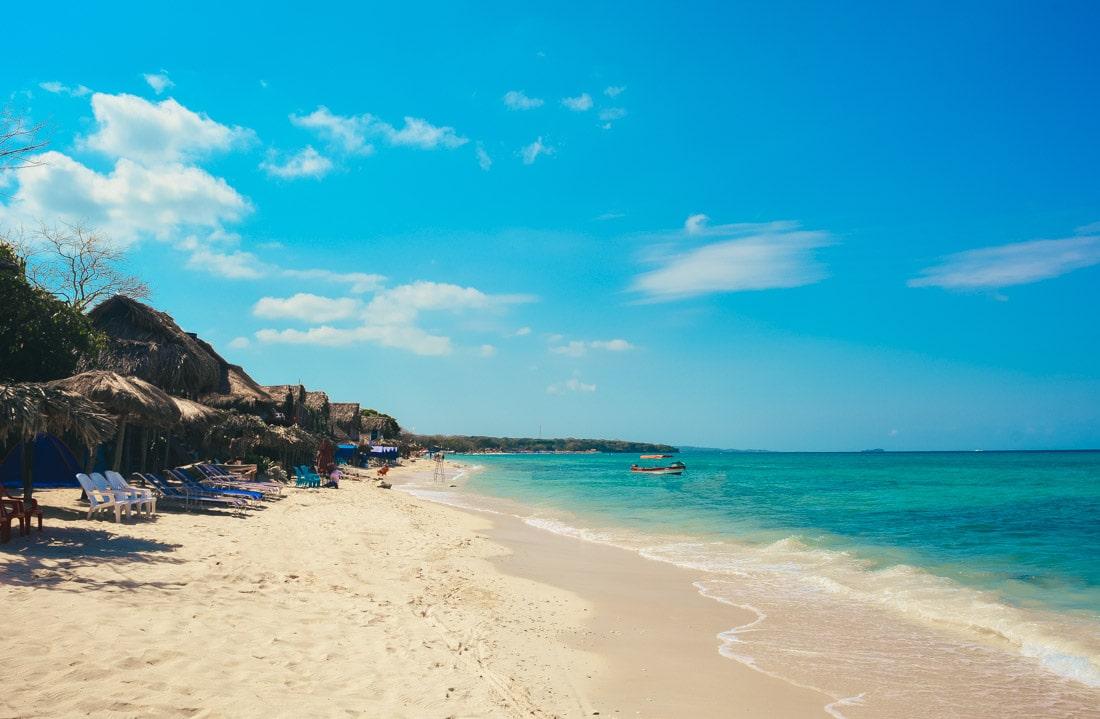 Playa Blanca, Cartagena - Colômbia