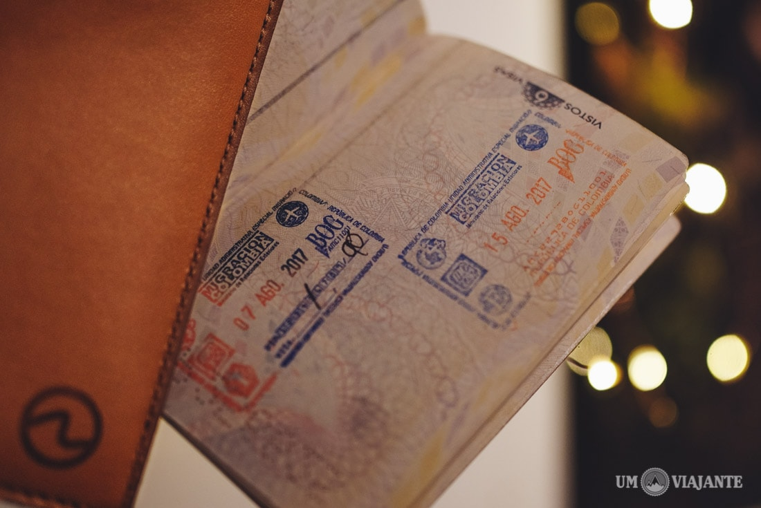 Documentos para viajar para Colômbia