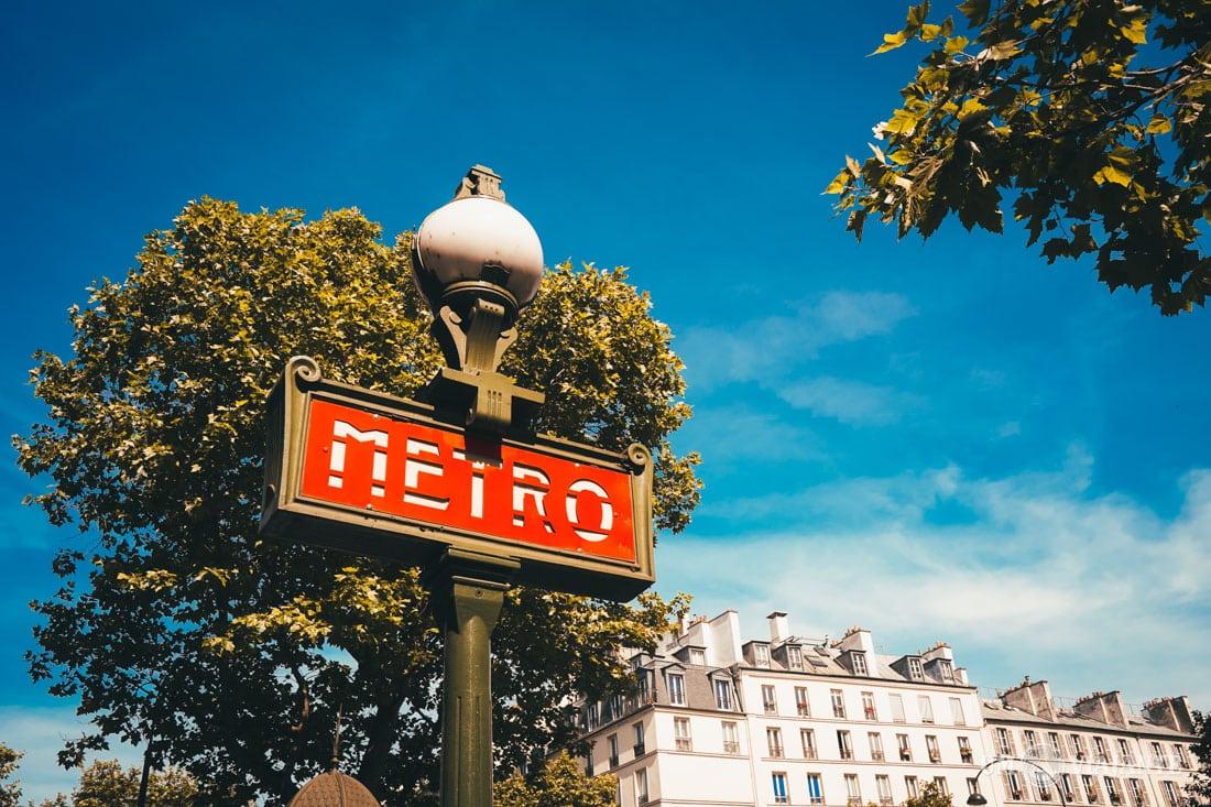 Como funciona o metrô de Paris