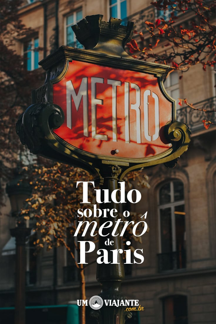 Tudo sobre o metrô de Paris
