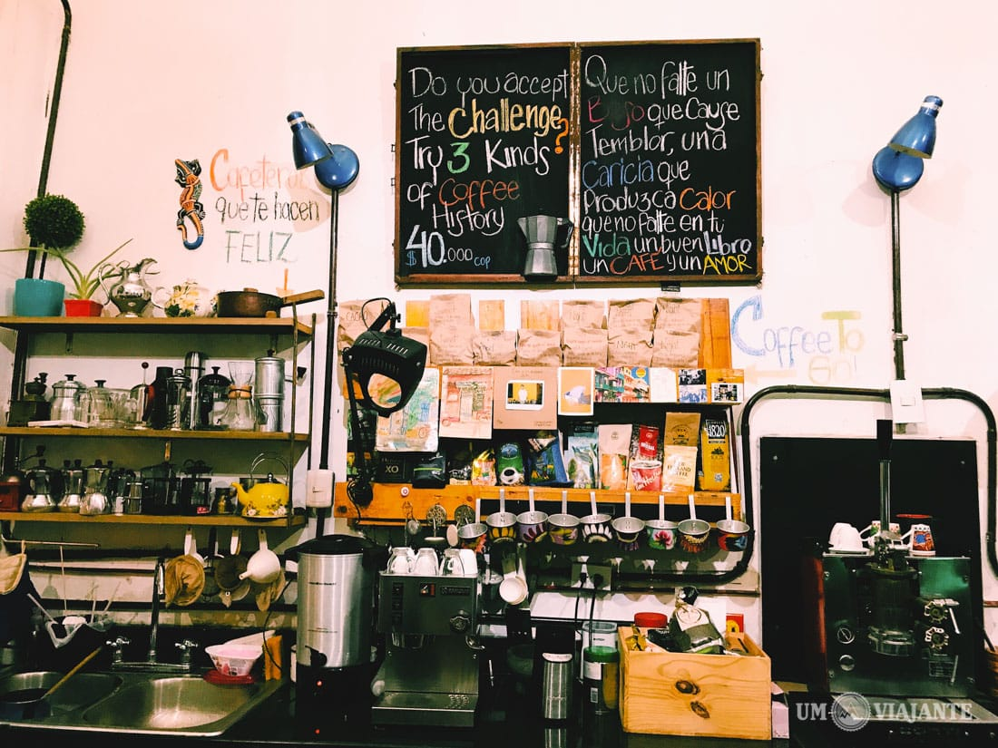 Laboratório de Cafés, em Cartagena